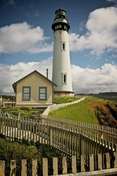 Photograph - Pigeon Point Light House, California by Flying Z Photography by Zayne Diamond