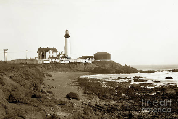 Photograph - Pigeon Point Light Station, California Photo by California Views Archives Mr Pat Hathaway Archives