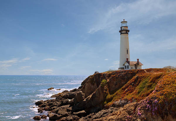 Photograph - Pigeon Point Light Station by Susan Rissi Tregoning