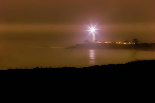 Photograph - Pigeon Point Through The Fog by Wes Jimerson