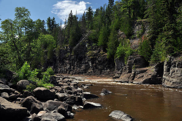 Wall Art - Photograph - Pigeon River Cliffs by John Ricker