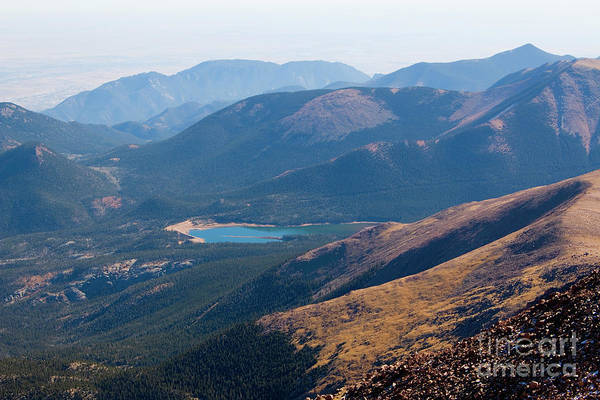 Photograph - Pikes Peak Colorado Summit by Steve Krull