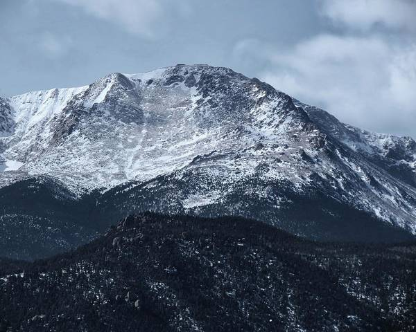 El Paso County Photograph - Pikes Peak by Connor Beekman