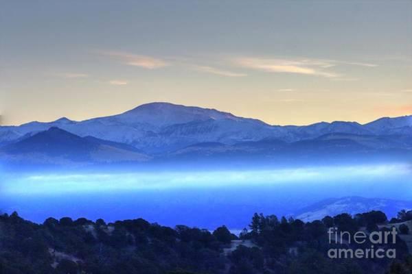 Photograph - Pikes Peak Early Morning by Tony Baca