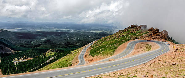 Photograph - Pikes Peak Highway by Greg Reed