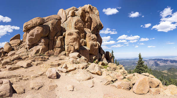 Photograph - Pikes Peak Outcropping by Lynn Palmer
