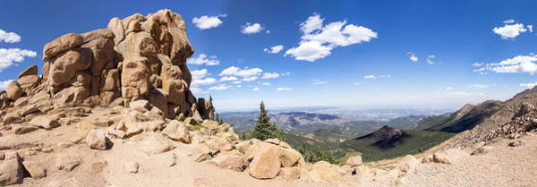 Photograph - Pikes Peak Red Rock Outcropping by Lynn Palmer