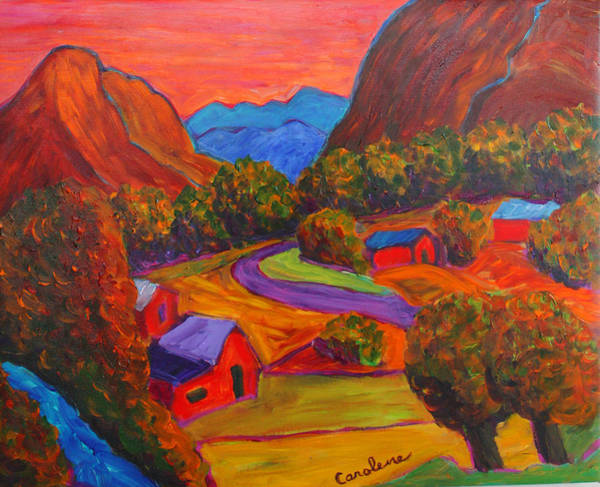 Sw Painting - Pilar by Carolene Of Taos