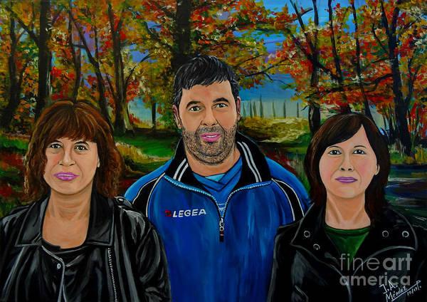 Comission Painting - Pilar Encargo  by Jose Mendez