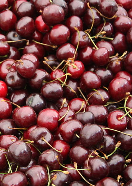 Photograph - Pile Of Cherries by Carol Groenen