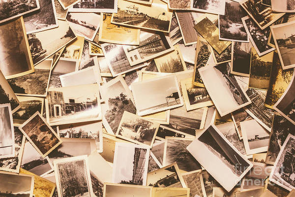 Wall Art - Photograph - Pile Of Many Instant Photos  by Jorgo Photography - Wall Art Gallery