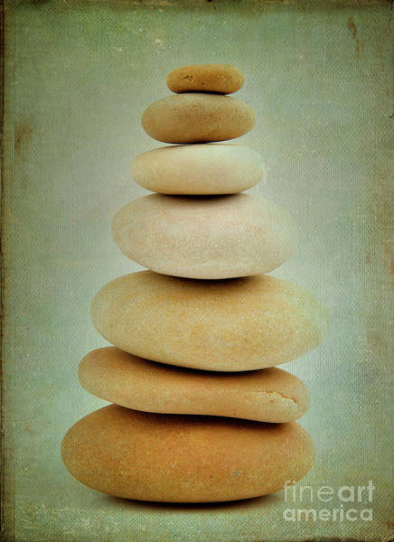 Stone Wall Art - Photograph - Pile Of Stones by Bernard Jaubert