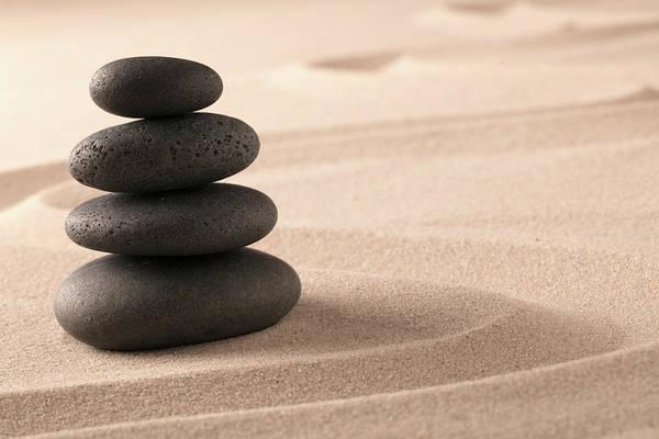 Balancing Rocks Photograph - Pile Of Wisdom by Dirk Ercken