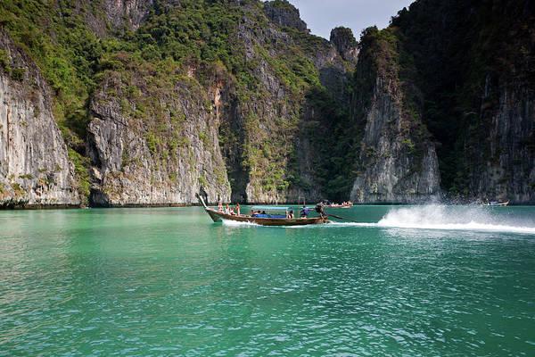 Photograph - Pileh Bay, Phi-phi Leh Island  by Aivar Mikko