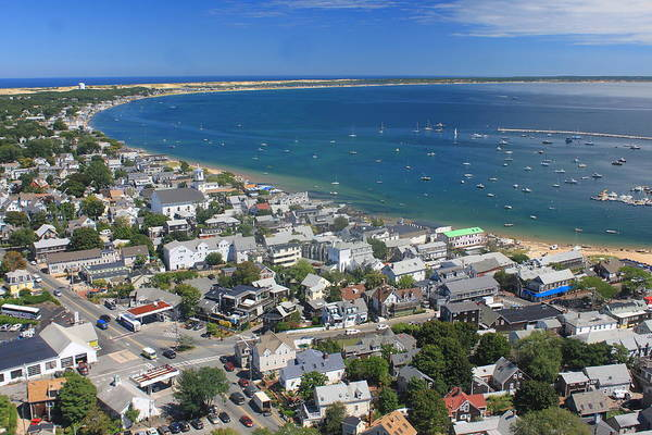 Provincetown Ma Wall Art - Photograph - Pilgrim Monument View by John Burk