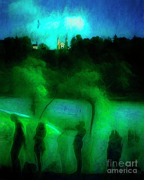 Digital Art - Pilgrimage by Edmund Nagele