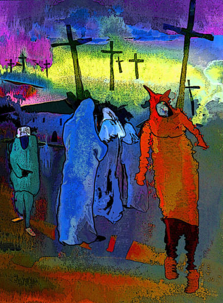 Painting - Pilgrimage by Miki De Goodaboom