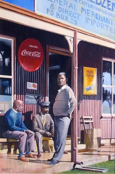 Painting - Pilgrims Rest by Tim Johnson
