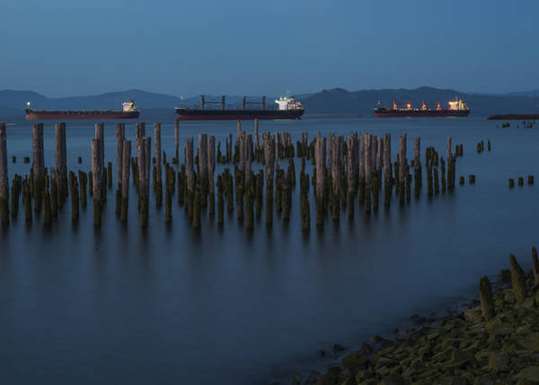 Photograph - Pilings To The Past by Robert Potts