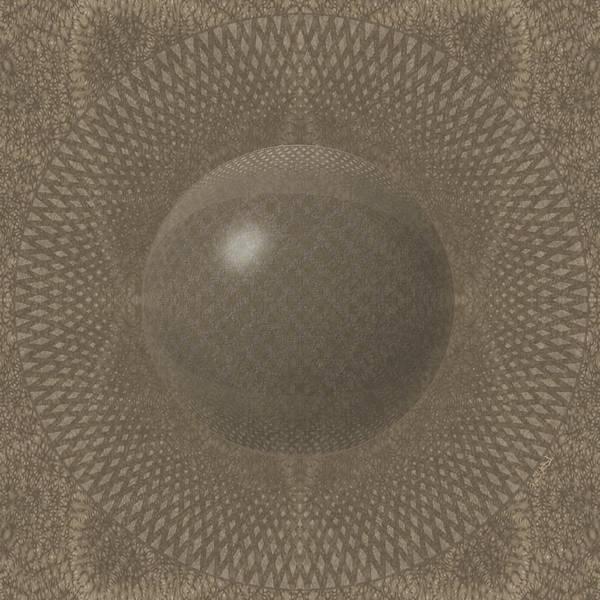 Digital Art - Pillow1-beige by Vincent Autenrieb
