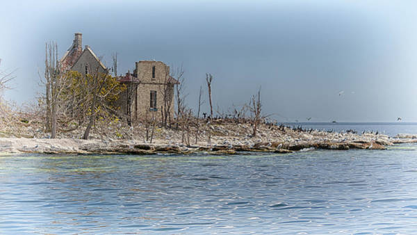 Photograph - Pilot Island Fog Signal House by Susan Rissi Tregoning