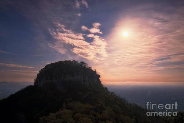 Photograph - Pilot Mountain Morning by Patrick M Lynch