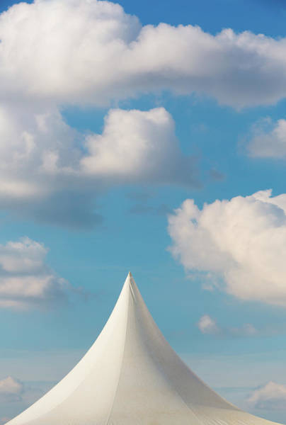 Photograph - Pinnacle Of Marquee Pointing To The Sky by Maggie McCall