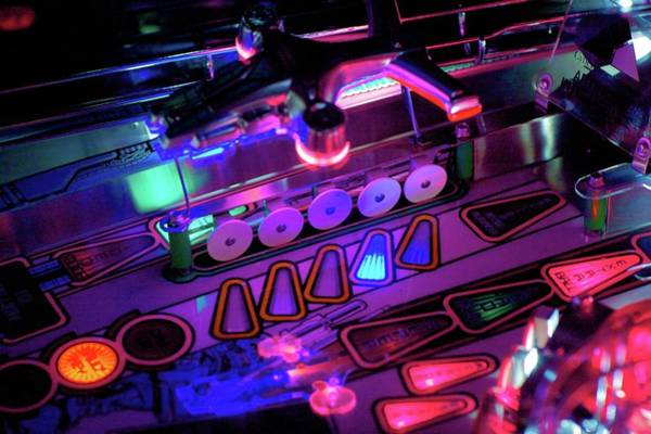 Pinball Digital Art - Pinball by Winna Perlin