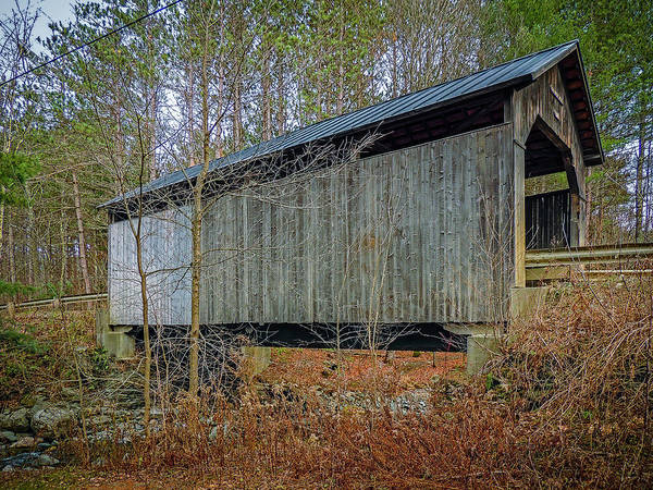 Photograph - Pine Brook Bridge by Robert Mitchell