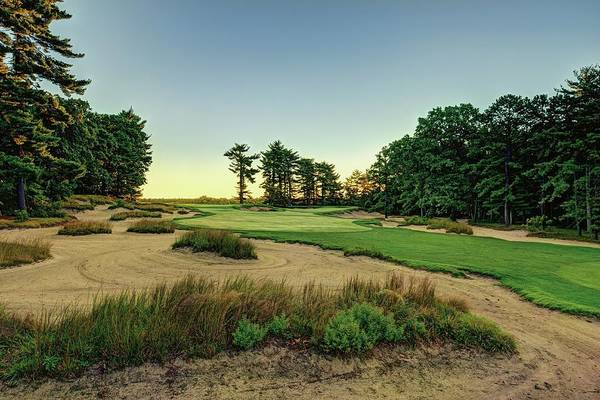 Golf Course Drawing - Pine Valley by Dom Furore