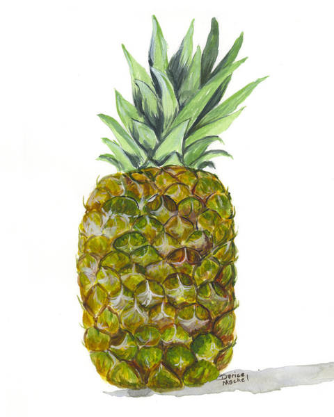 Painting - Pineapple by Darice Machel McGuire