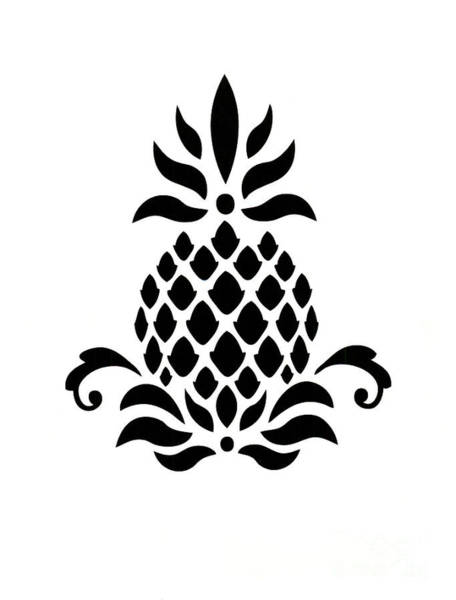 Photograph - Pineapple Hospitality  by Dale Powell