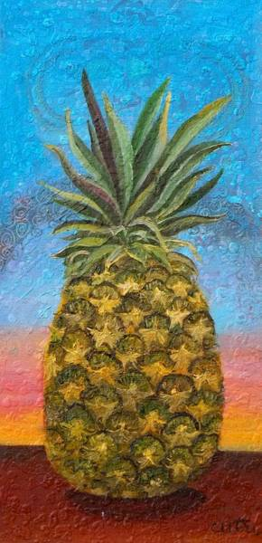 Pineapple Sunrise Or Pineapple Sunset Art Print