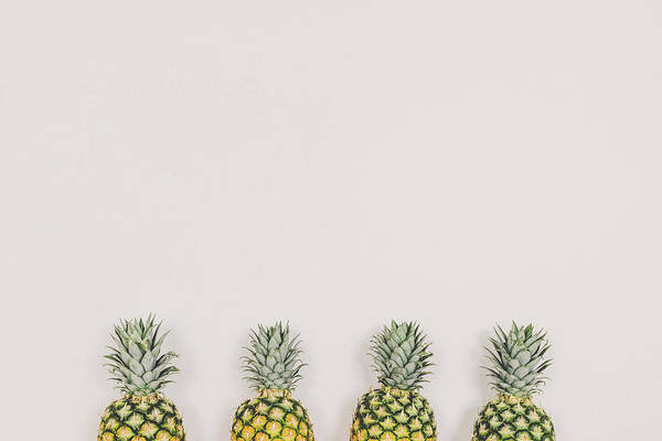 Wall Art - Photograph - Pineapples by Happy Home Artistry