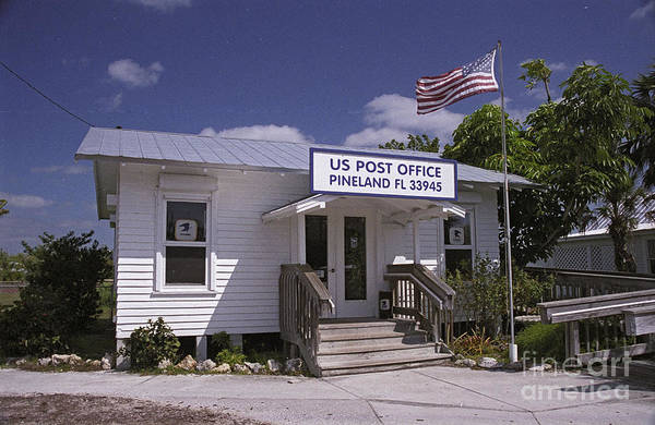 Photograph - Pineland Post Office by Richard Nickson