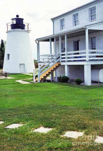 Photograph - Piney Point Lighthouse by Thomas R Fletcher