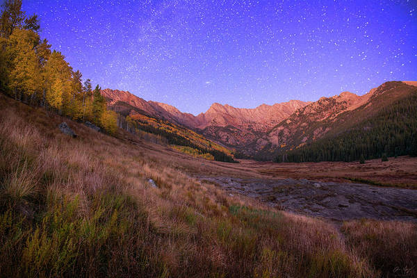 Photograph - Piney Stars by Aaron Spong