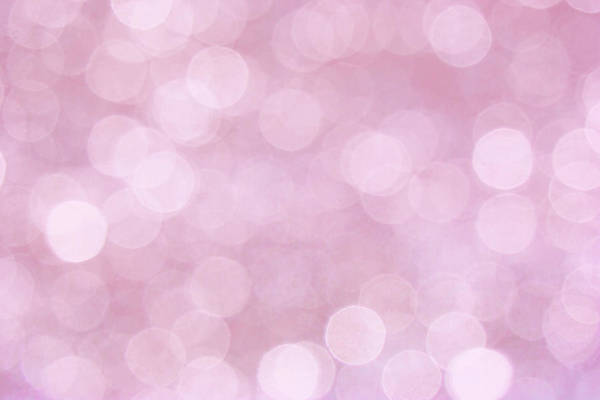Photograph - Pink Abstract Bokeh by Peggy Collins