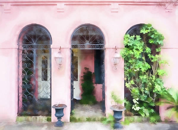Wall Art - Photograph - Pink Arches by Kathy Jennings