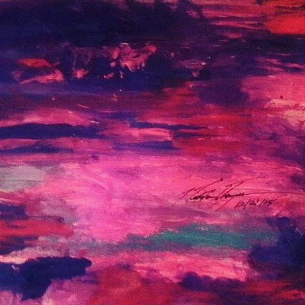 God Wall Art - Photograph - Pink Beauty Sunset by Love Art Wonders By God