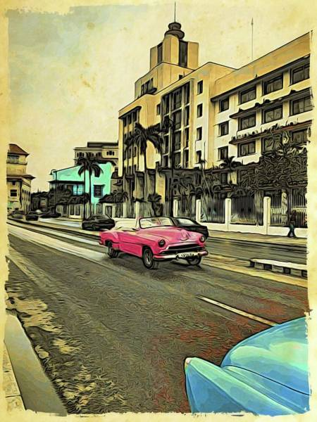 Photograph - Pink Behind Blue by Alice Gipson