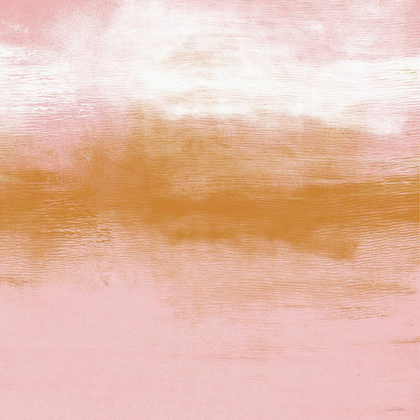 Painting - Pink Blush Landscape- Abstract Art By Linda Woods by Linda Woods