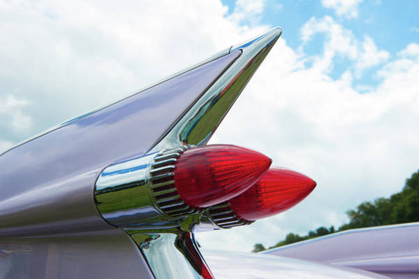 Photograph - Pink Cadillac by Helen Northcott