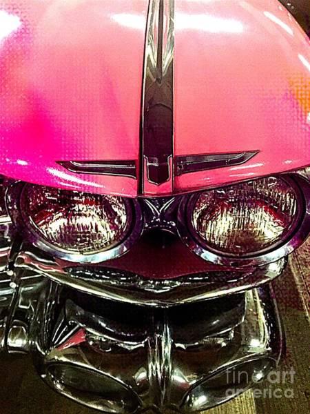Photograph - Pink Cadillac by Jenny Revitz Soper