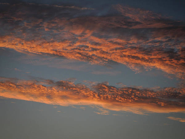 Photograph - Pink Clouds At Sunset by James Truett