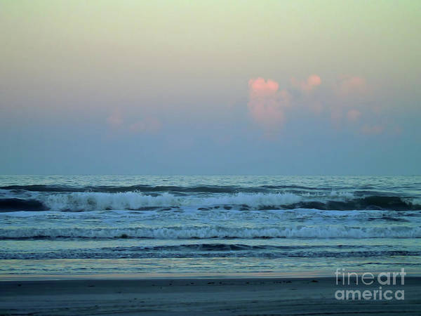 Photograph - Pink Clouds Over The Atlantic by D Hackett