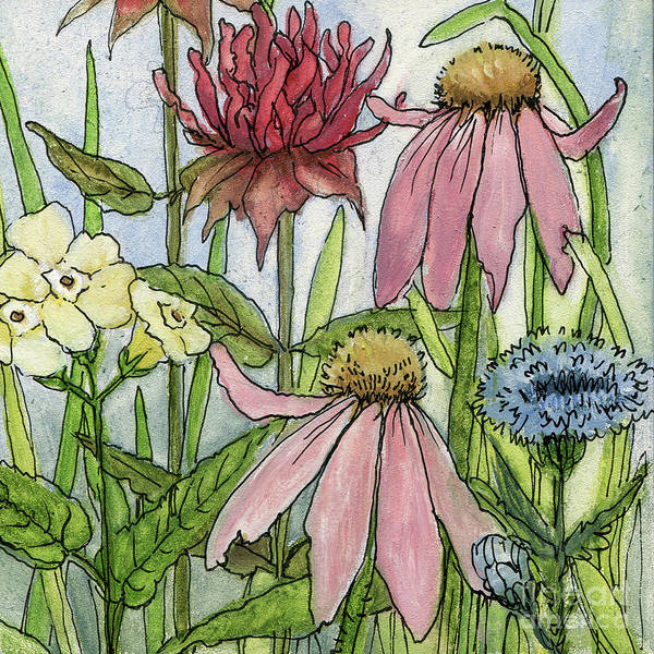 Painting - Pink Coneflower by Laurie Rohner