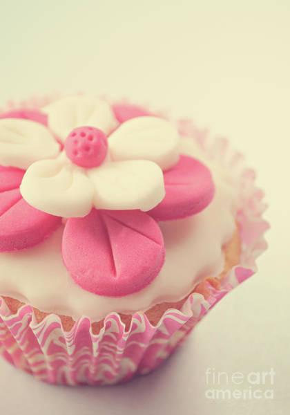 Wall Art - Photograph - Pink Cupcake by Lyn Randle