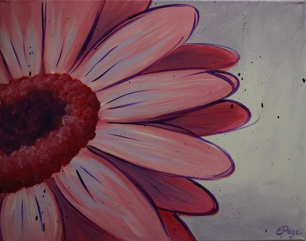 Painting - Pink Daisy by Emily Page