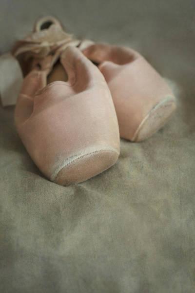 Wall Art - Photograph - Pink Dance Shoes by Jaroslaw Blaminsky